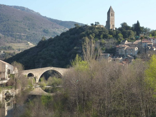 Olargues, perhaps the most beautiful village in France