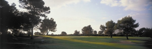golf course near villa roquette in the keart of languedoc