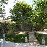 sepia-garden
