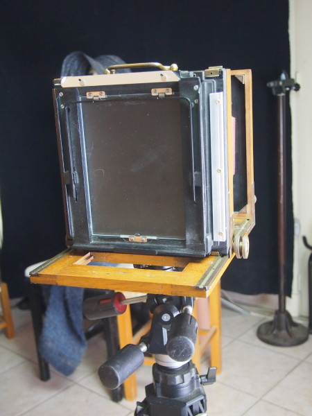 My Half Plate Field Camera with a new Sinar 5x7inch back