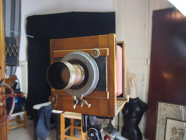 My Half Plate Field Camera with an 1861 Dallmeyer 2B lens